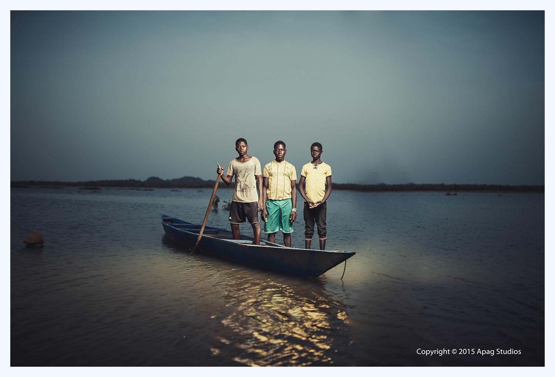 Fishing in Ghana