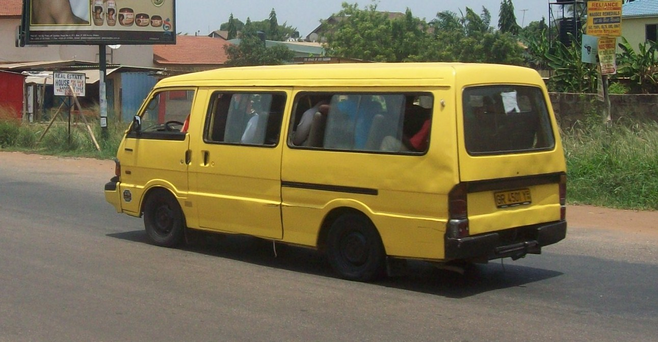 taxi and trotro business in Ghana