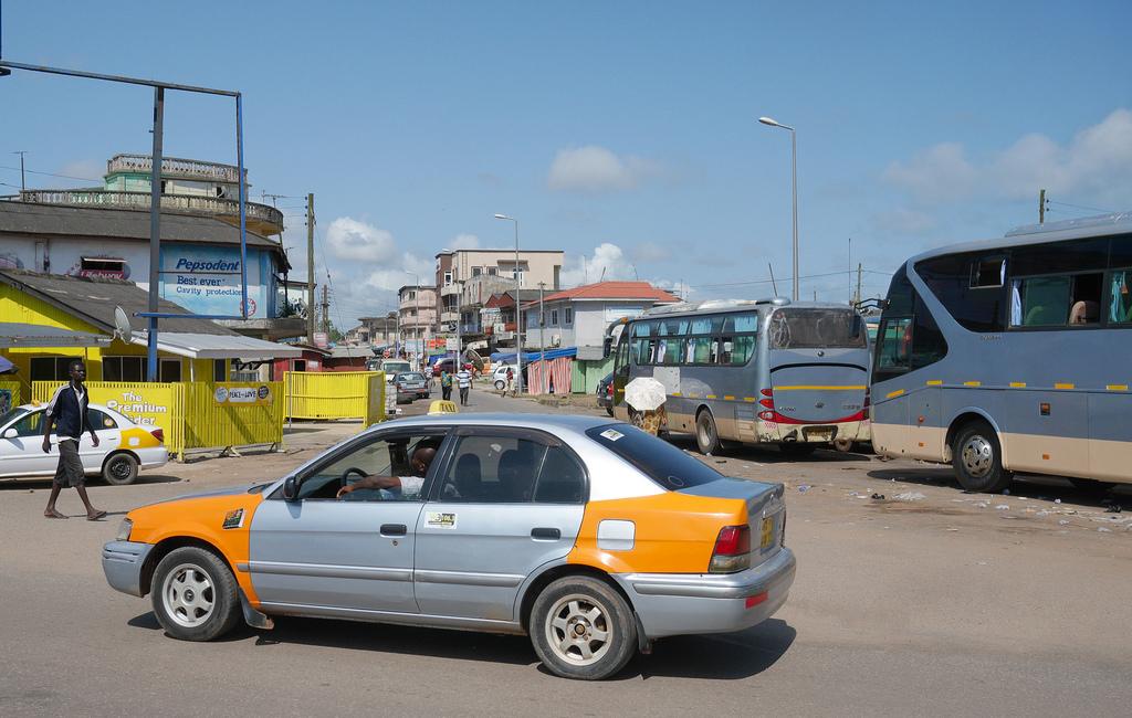 Ghana-Taxis