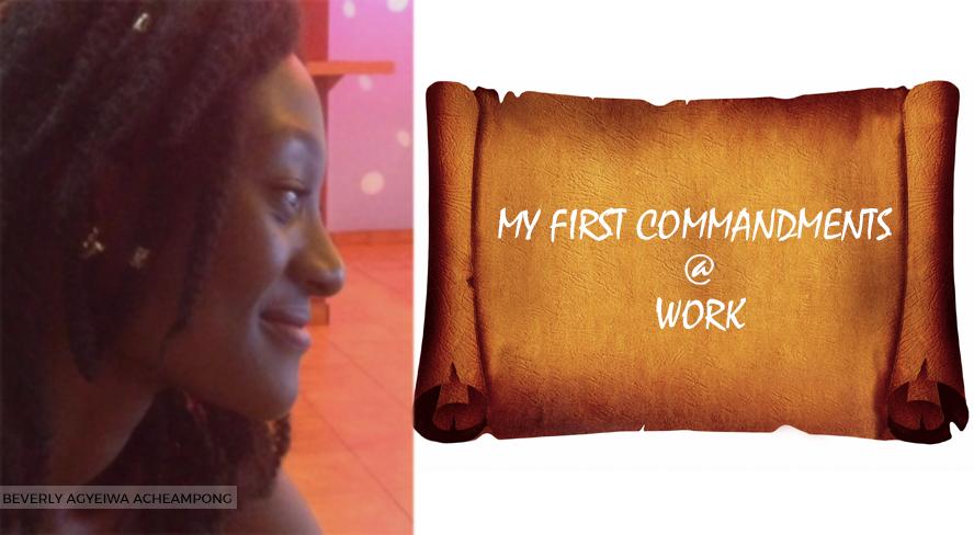 my-first-work-commandments