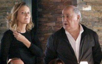 Amancio Ortega richest man and wife
