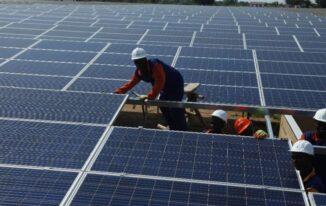 Uganda solar power plant