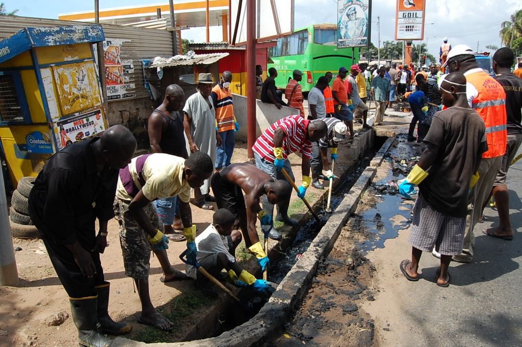Keep Ghana clean sesawosuban
