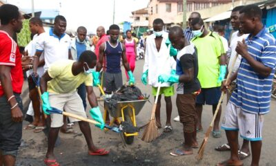 sesawosuban and Let's clean Ghana